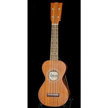 Custom OHANA SK-28 Limited Edition Solid Mahogany Vintage Nunes Style Soprano Ukulele