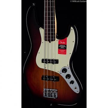 Custom Fender American Pro Professional Jazz Bass Fretless 3-Tone Sunburst Rosewood (895)