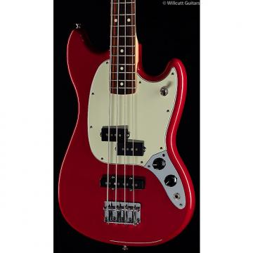 Custom Fender Mustang PJ Bass Torino Red (089)