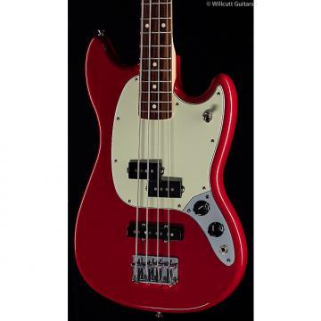 Custom Fender Mustang PJ Bass Torino Red (858)