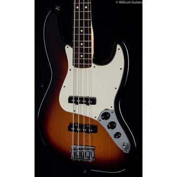 Custom Fender Standard Jazz Bass® Brown Sunburst, Rosewood (845)