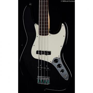 Custom Fender Standard Jazz Bass® Fretless Black, Rosewood (760)