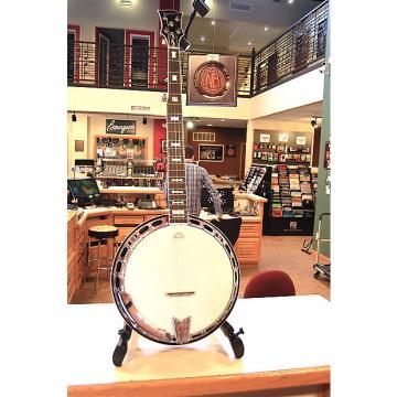 Custom Hawthorn Mahogany Bowtie Banjo