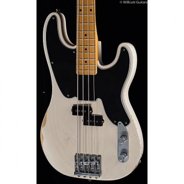 Custom Fender Mike Dirnt Road Worn Precision Bass White Blonde (998)