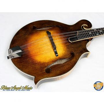 Custom Eastman MD915-SB Classic F-Style Mandolin w/HFC Solid Woods Flamed Maple! #38272