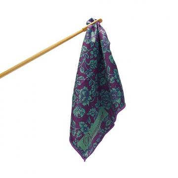 Custom Bamboo Flute Swab by Beaumont - Violet Lace