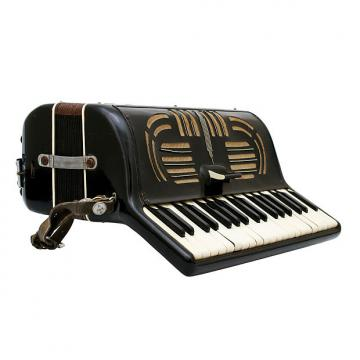 Custom Adamo 37/80 Accordion For Repair Black
