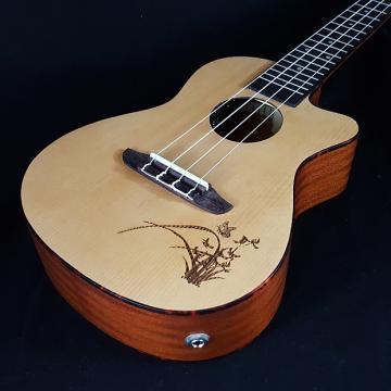 Custom New Ortega RU5CE RU5 CE Concert Cutaway Acoustic Electric Ukulele