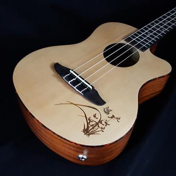 Custom New Ortega RU5CE-TE RU5 CE Tenor Cutaway Acoustic Electric Ukulele