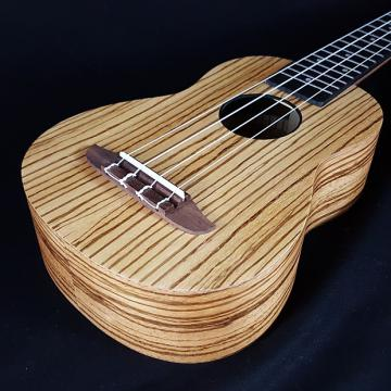 Custom New Ortega RFU10Z Rfu 10 Z RFU10 Friends Series Zebrawood Soprano Ukulele w/ BAG