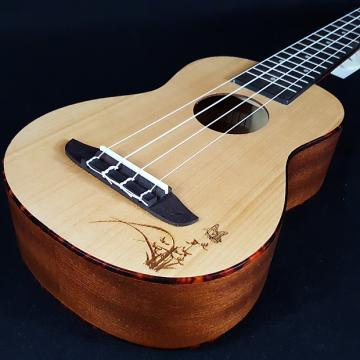 Custom New Ortega RU5SO RU5 RU 5 SO Soprano Ukulele with a Laser Engraved Top