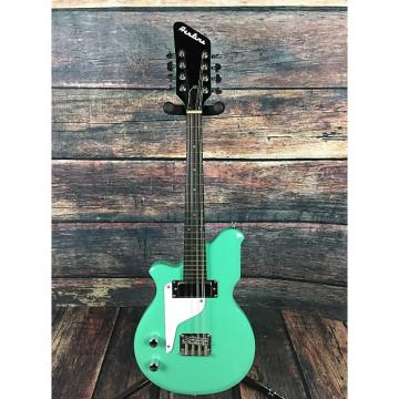 Custom Airline Mandola Left Handed  Seafoam Green with TKL gigbag