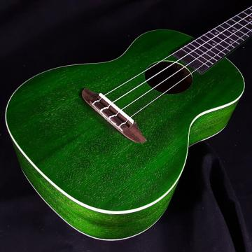 Custom New Ortega Earth Series RUFOREST Green Concert Ukulele Okoume Top Back Sides