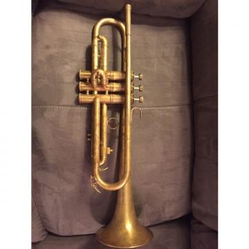 Custom Holton Revelation Model 48 1946 Raw Brass Trumpet