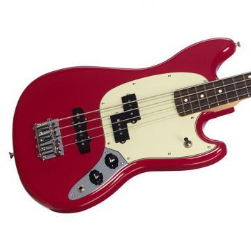 Custom Fender Offset Series Mustang Bass PJ - Torino Red - Short Scale Electric Bass Guitar - 0144050558