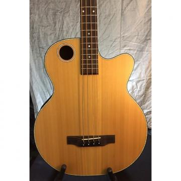 Custom Boulder Creek  EBR3-N4 Satin Solid Cedar top Acoustic Electric Bass-BC Hardshell Case $95 w/Purchase