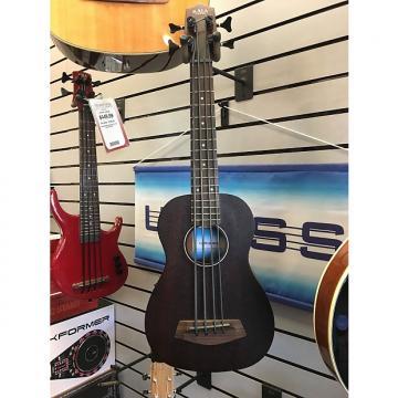 Custom Kala RMBL-FS U-Bass Rumbler Fretted Acoustic Electric Ukulele Bass 2014 Black