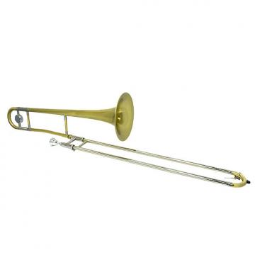Custom Schiller Studio Tenor Trombone - Brushed Gold