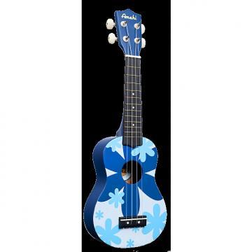 Custom Amahi DDUK8 Blue Floral Pattern
