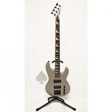 Custom Jackson 4 String Bass Silver/Grey