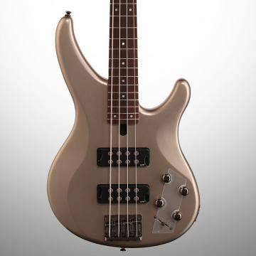 Custom Yamaha TRBX304 Electric Bass, Pewter