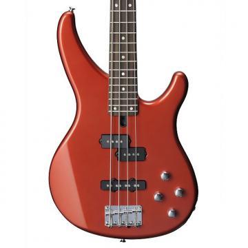 Custom Yamaha TRBX204 Electric Bass, Bright Red Metallic