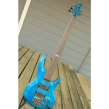 Custom ESP LTD LTD B-155DX 2016 Transparent Blue