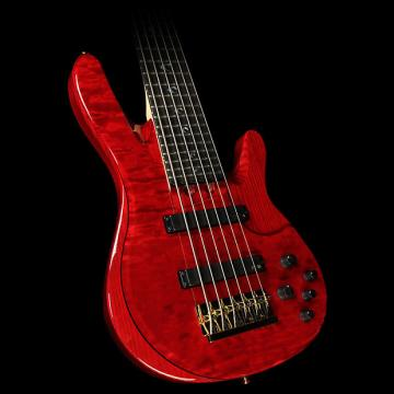 Custom Yamaha TRBJP2 John Patitucci Signature Electric Bass Guitar Translucent Dark Red