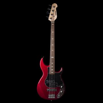 Custom Yamaha BB424XRM 4 String Bass in Red Metallic - Excellent Condition - 6 Month Alto Music Warranty