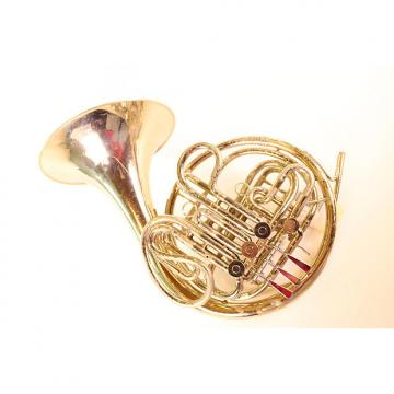 Custom Reynolds Contempora Double French Horn Nickel Silver Kruspe Wrap GREAT PLAYER