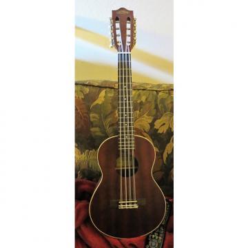 Custom Lanikai LU2-8 Eight-String Tenor Ukulele - Brown Mahogany