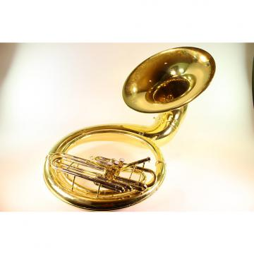 Custom Yamaha YSH-411 Lacquered Brass Sousaphone GREAT HORN!