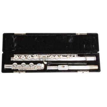 Custom Gemeinhardt Model 3OB Flute, Open Hole, Offset G, B-Foot, Silver Plated