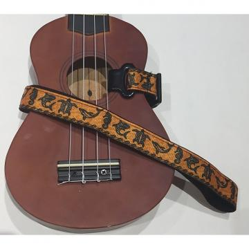 Custom Under The Sea Ukulele Strap (Orange)
