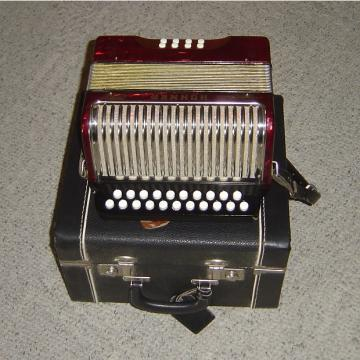 Custom Hohner Button Accordion C-G Erica