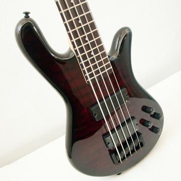 Custom Spector Legend 5 Classic Black Cherry Gloss