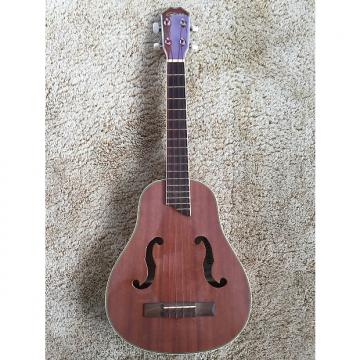 Custom Gitano Narrow Body F Sound Hole Tenor Ukulele 2014 Gloss