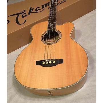 Custom Takamine GB72CE Acoustic Electric Bass Natural