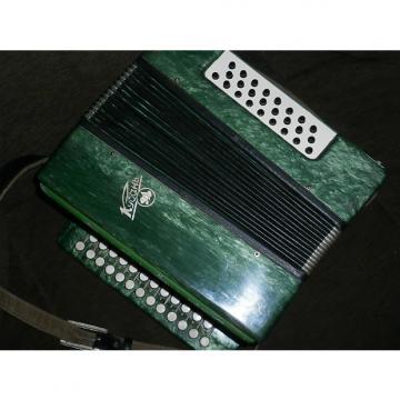 Custom Vintage Russian  Harmonika Kuban Кубань Button Accordion  25 x 25