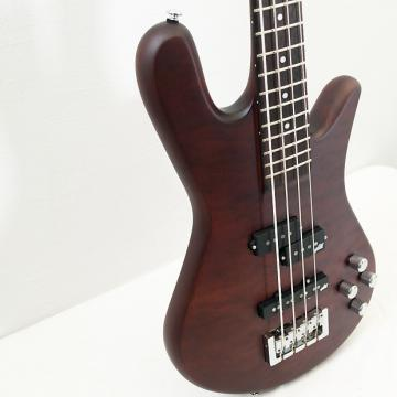 Custom Spector Legend 4 Neck-Thru Walnut Matte