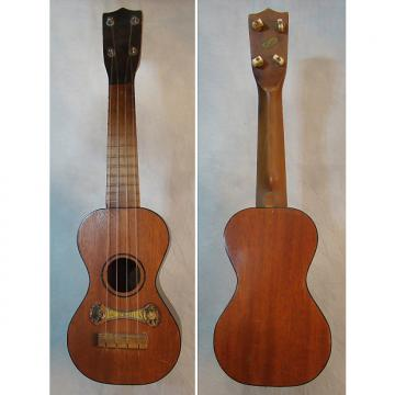 Custom Vintage 1920s Richter Duncan Sisters soprano ukulele