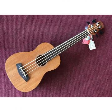 Custom Amahi UK222B Ukulele Bass with EQ Mahogany