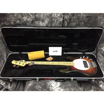 Custom Music Man 117OS2202 Stingray 40th Anniversary Maple with Walnut Skunk - Chocolate Burst