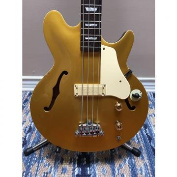 Custom Epiphone Jack Casady Signature Bass 2000s Classic Metallic Gold