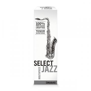 "Custom D'Addario Select Jazz D8M Tenor Saxophone Mouthpiece - Please ensure you are purchasing the correct opening (.110"" OR 2.79MM TIP OPENING)"
