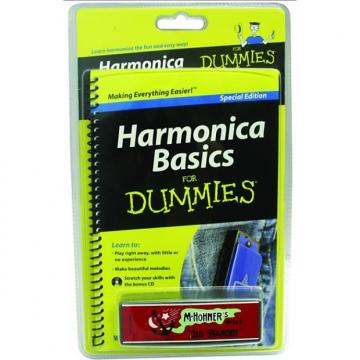Custom For Dummies  Harmonica Pack GUIA-HFDPK