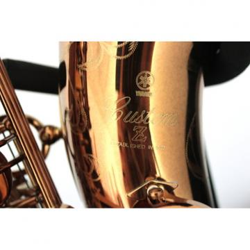 Custom Yamaha YAS-82ZII 50th Anniversary Custom Z Alto Saxophone 2017 Vintage Bronze