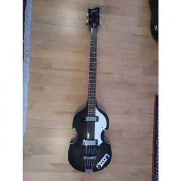 Custom Hofner Beatle Bass, HI-Series, 2011 Black Transparent, w/ Hardshell Case