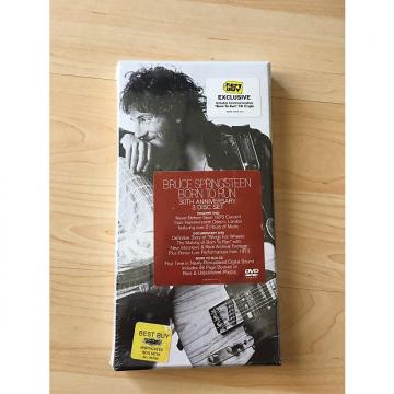 "Custom Bruce Springsteen ""Born To Run"" 30th Anniversary 3 Disc Set 1975-2005 White"