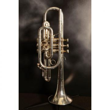 Custom Benge 1973 L.A. Silver Plated Cornet With Original Hard